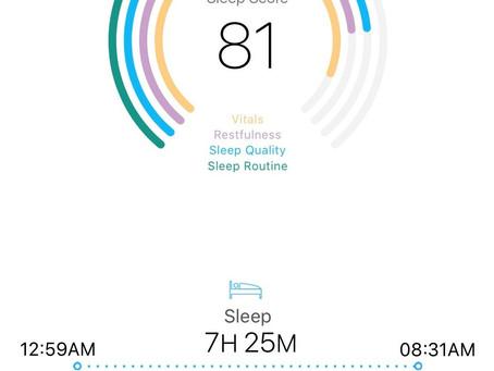 Sleep Score and Breakup