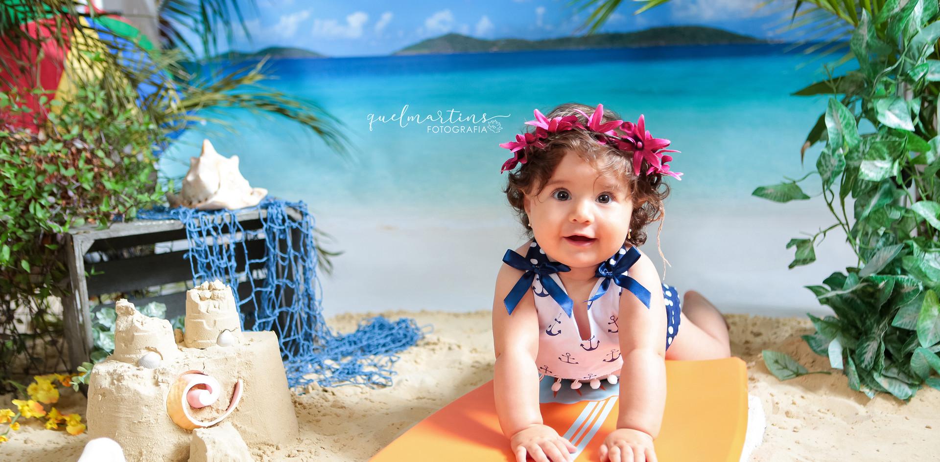 Helena-8m-Praia  Verão