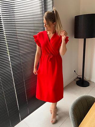 Jurk Rome rood