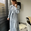 Thumbnail: Lange jurk lichtblauw
