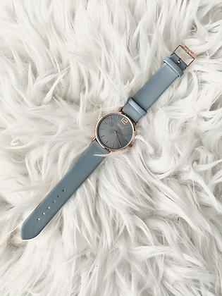 Horloge May - Licht blauw
