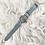 Thumbnail: Horloge May - Licht blauw