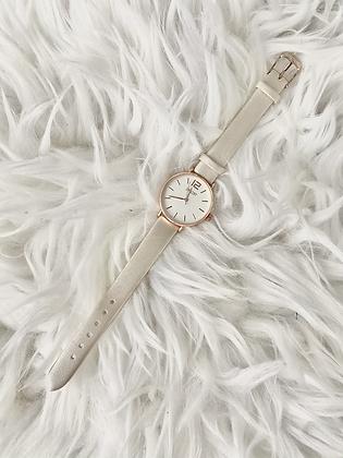 Horloge Bo- Shiny ecru