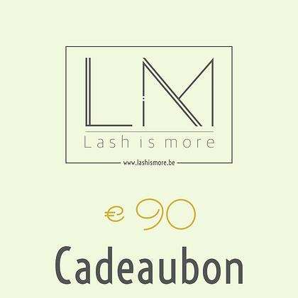 Cadeaubon Lash is more