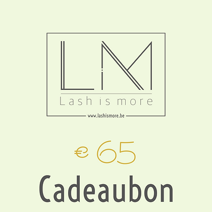 Cadeaubon Lash is more