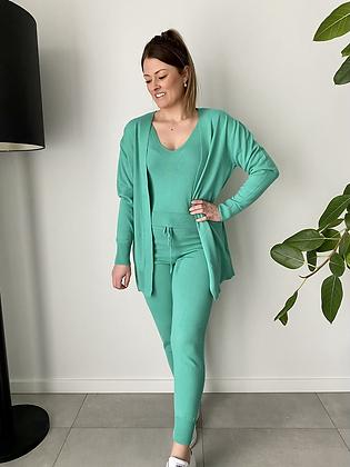 3-delige comfy set groen