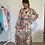 Thumbnail: Lange jurk multicolor