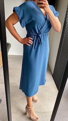 Jurk Rome blauw
