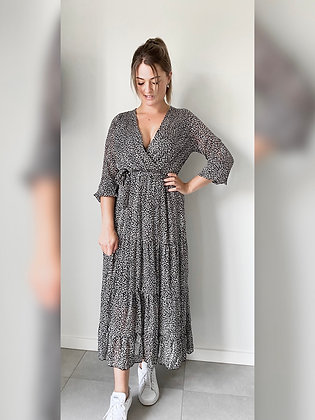 Maxi dress Evelien zwart