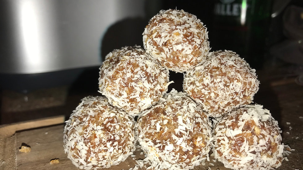 Coconut Date Energy Bites