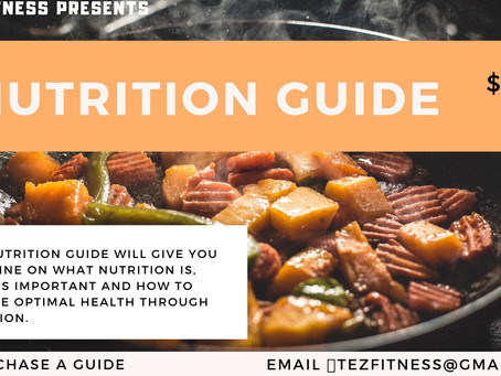 $25 Nutrition Guide
