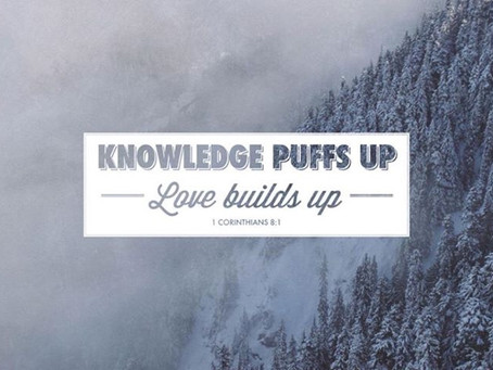LOVE or KNOWLEDGE