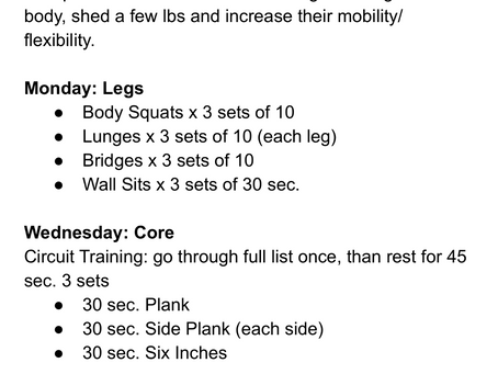 FREE HOME WORKOUT