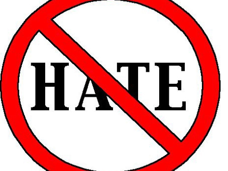 Hate Disobeys The Commandment