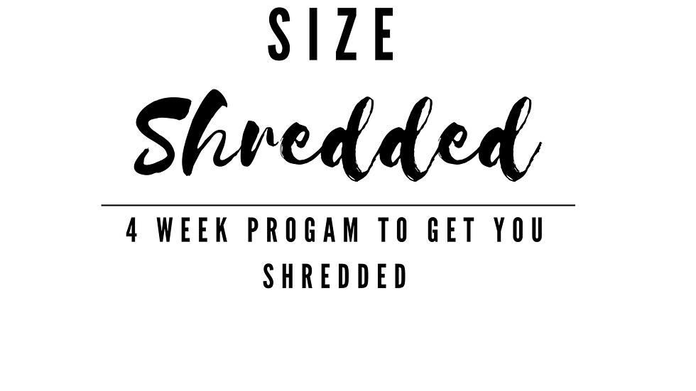 Strength, Size & Shredded