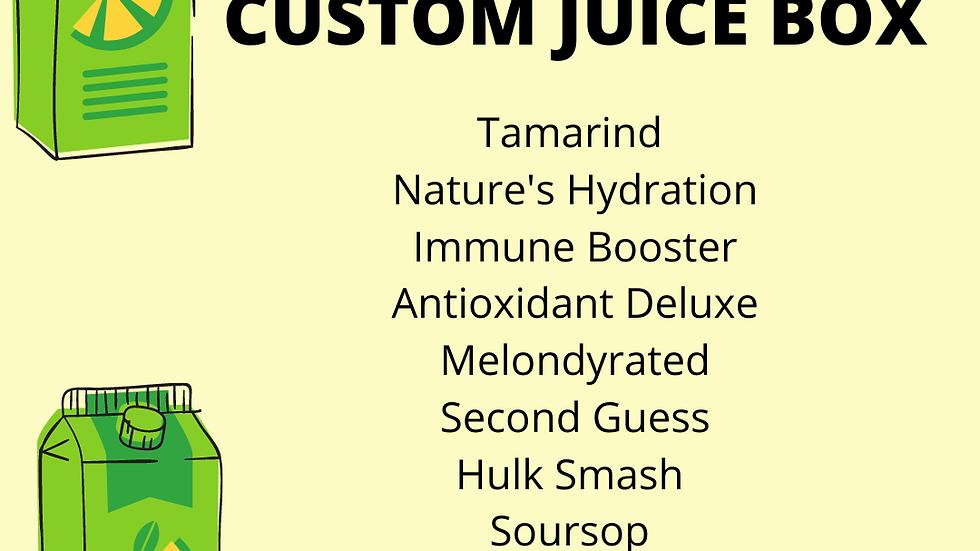 Custom Juice Box