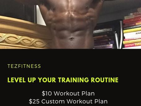 TezFitness Workout Plans