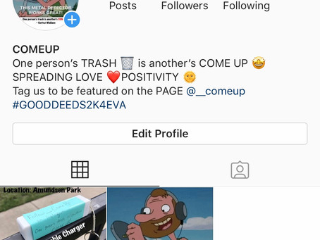 The COMEUP — Newest Instagram