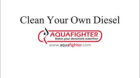 Testing AquaFighter filters to get rid of bound/free water in your diesel/biodiesell