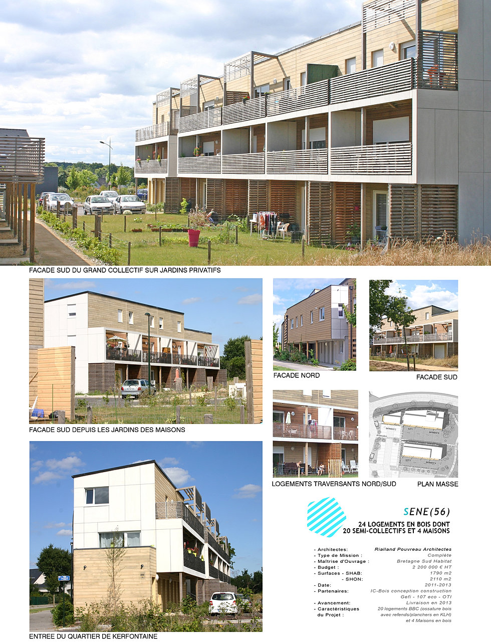 architecte lorient maisons extensions s n 24 logements. Black Bedroom Furniture Sets. Home Design Ideas