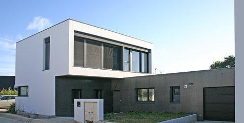 architecte lorient maison individuelle. Black Bedroom Furniture Sets. Home Design Ideas