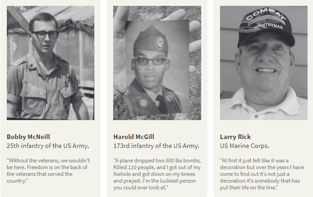Purple Heart veterans reflect on why they served