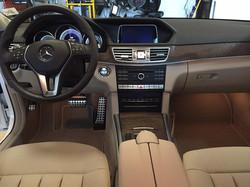 E350 Interior Detail
