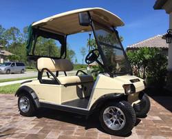 Golf Cart Detailing
