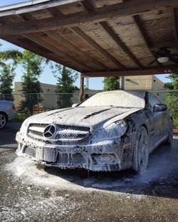SL550 Foam Bath