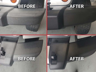 Protecting your plastic trim and why it is important!
