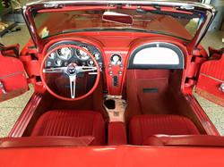63' Stingray Interior