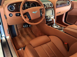 Bentley Interior Detail