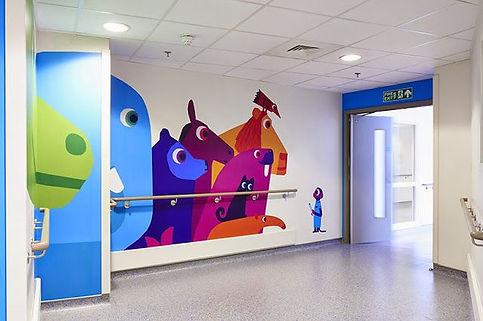 Impresión vertical decoración publicidad