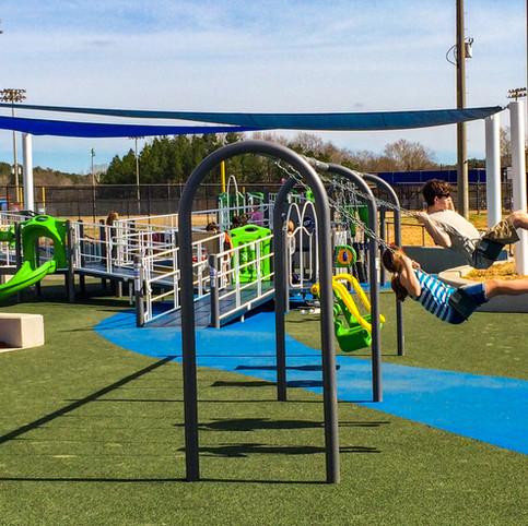 Hoover East Inclusive Playground