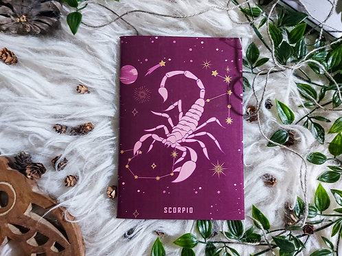 ZODIAC - Scorpio - Notebook