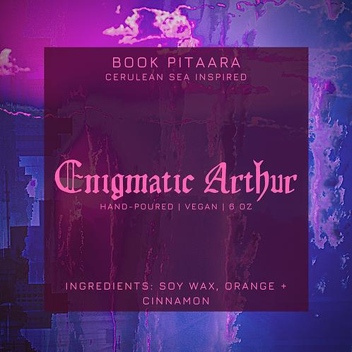 Enigmatic Arthur - Cerulean Sea Candle