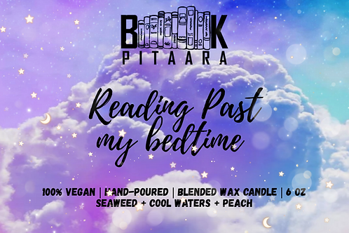 Reading Past My Bedtime - Bookish Scented Candle