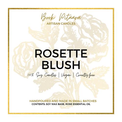 Rosette Blush - Soy Candle - 6 oz