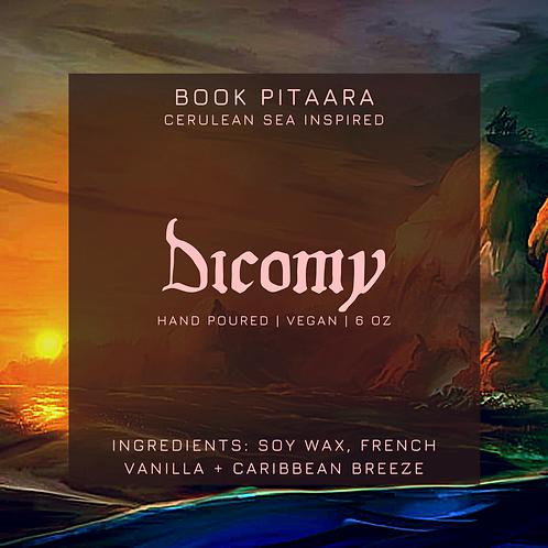 D.I.C.O.M.Y - Cerulean Sea Candle