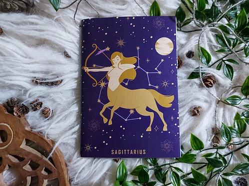 ZODIAC - Sagittarius - Notebook