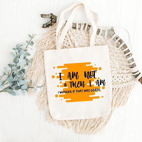 Illuminae Files - Quote Tote Bag