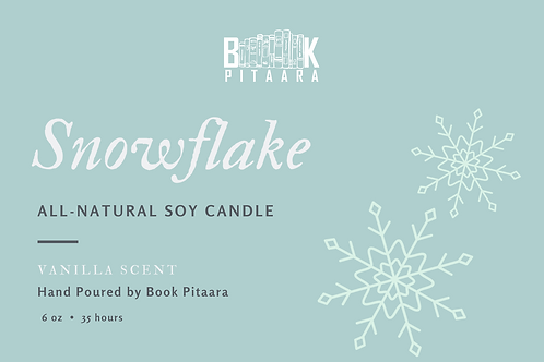 Snowflake - Natural Soy Candle