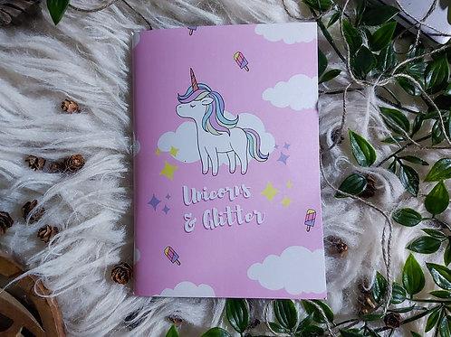Unicorn & Glitter - Notebook