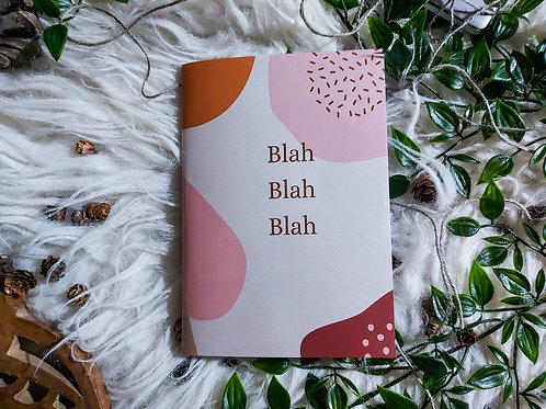 Blah Blah Blah - Notebook