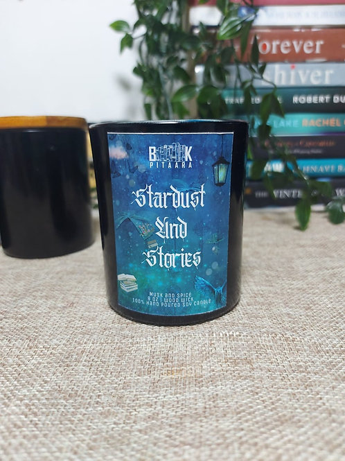 Stardust and Stories - Wood Wick Candle