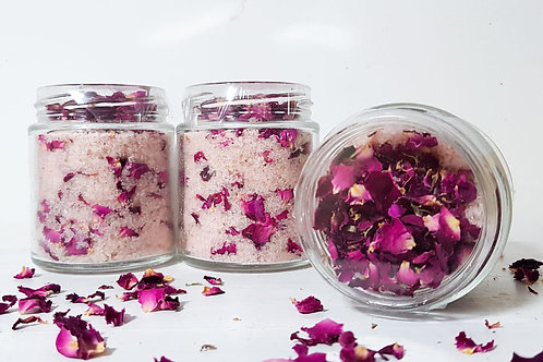 Floral Rose Bath Salts
