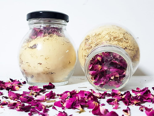 Fuller's Earth Clay - Multani Mitti (Rose)