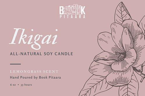 Ikigai - 6 oz Natural Soy Candle