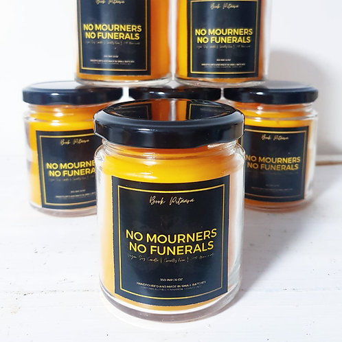 No Mourners No Funerals - Soy Blend Candle