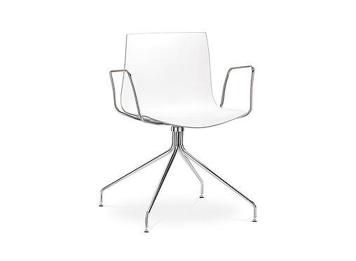 Arper Catifa 46 Trestle Swivel Base Chair
